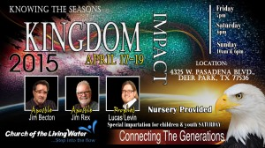 Kingdom Impact 2015 Flyer CLW